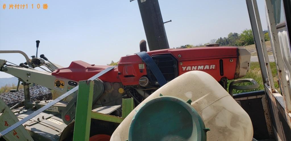 【山口市】耕運機の回収・処分ご依頼 お客様の声