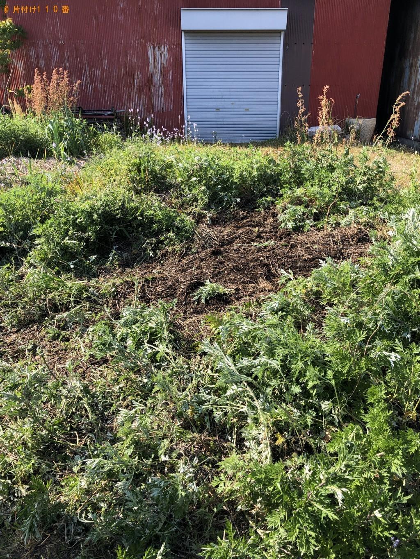 【大島郡周防大島町】刈取り収集済みの草の回収・処分ご依頼
