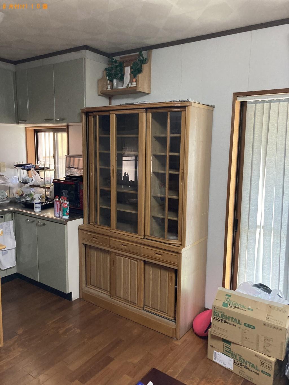 【山陽小野田市】食器棚、カラーボックス、本棚等の回収・処分ご依頼