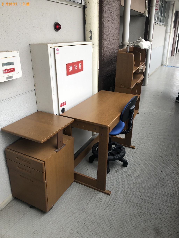 【周南市】本棚、椅子、学習机の回収・処分ご依頼 お客様の声
