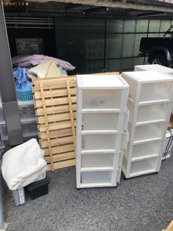 【岩国市】2段ベッド、キャビネット、布団などの回収 お客様の声