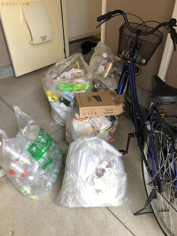 【岩国市玖珂】ペットボトル、缶、可燃ごみ、不燃ごみの回収・処分