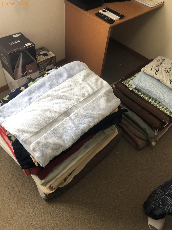 【日高市】遺品整理に伴い布団・室内物干し・水切りラックの回収・処分