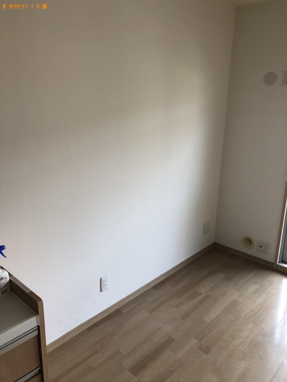 【下関市新地町】冷蔵庫、空気清浄機、掃除機、食器棚等の回収・処分