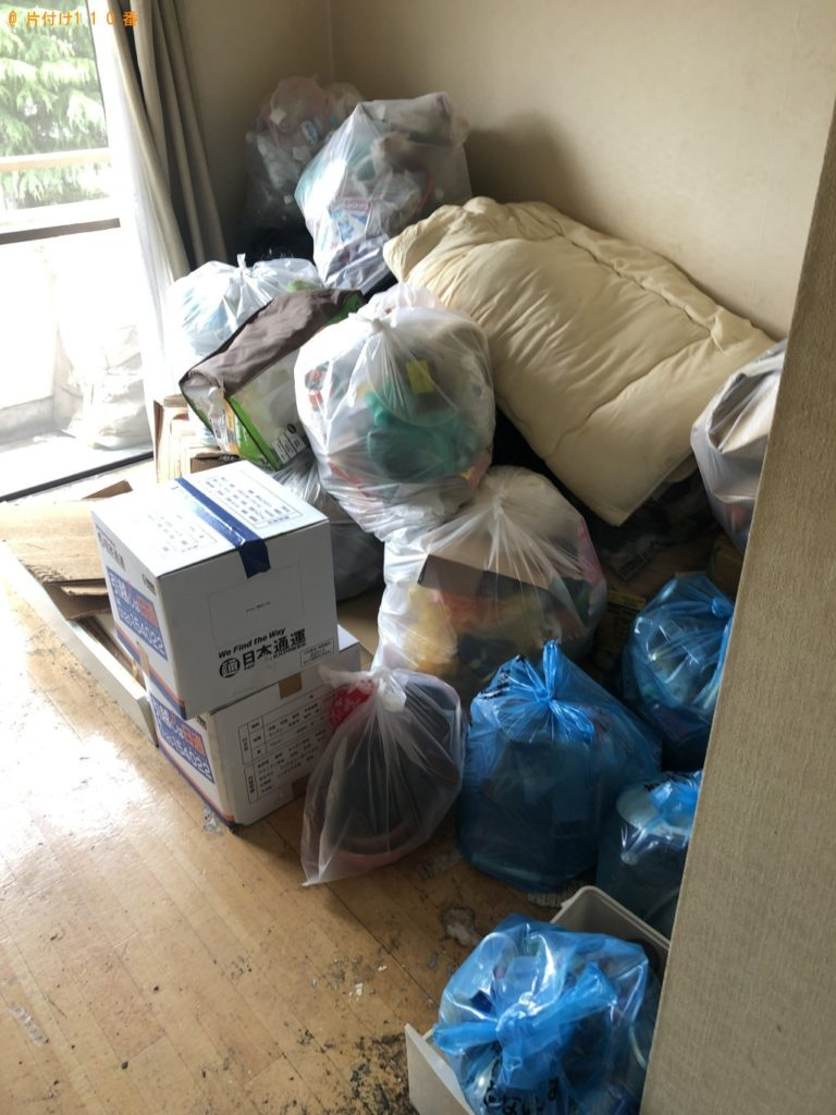 【南島原市】布団、分解した家具、一般ごみ等の回収・処分ご依頼