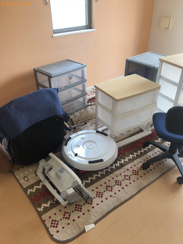 【山口市】食器棚、衣装ケース、座椅子、ゴルフバッグ一式等の回収