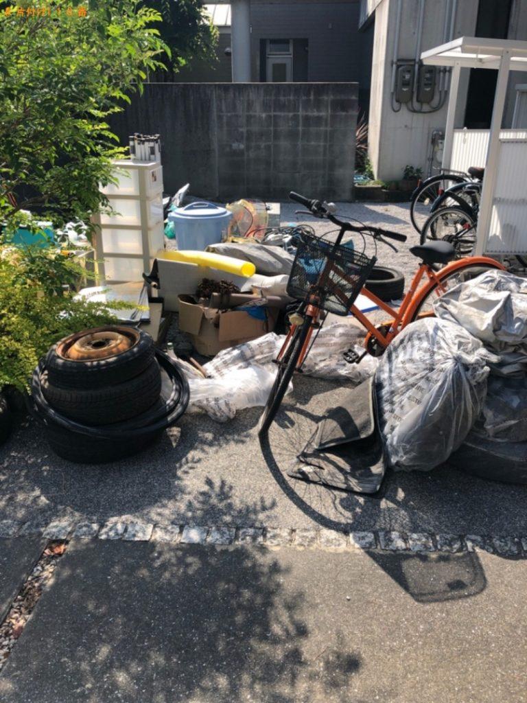 【大田原市】軽トラック1台程度の出張不用品回収・処分ご依頼