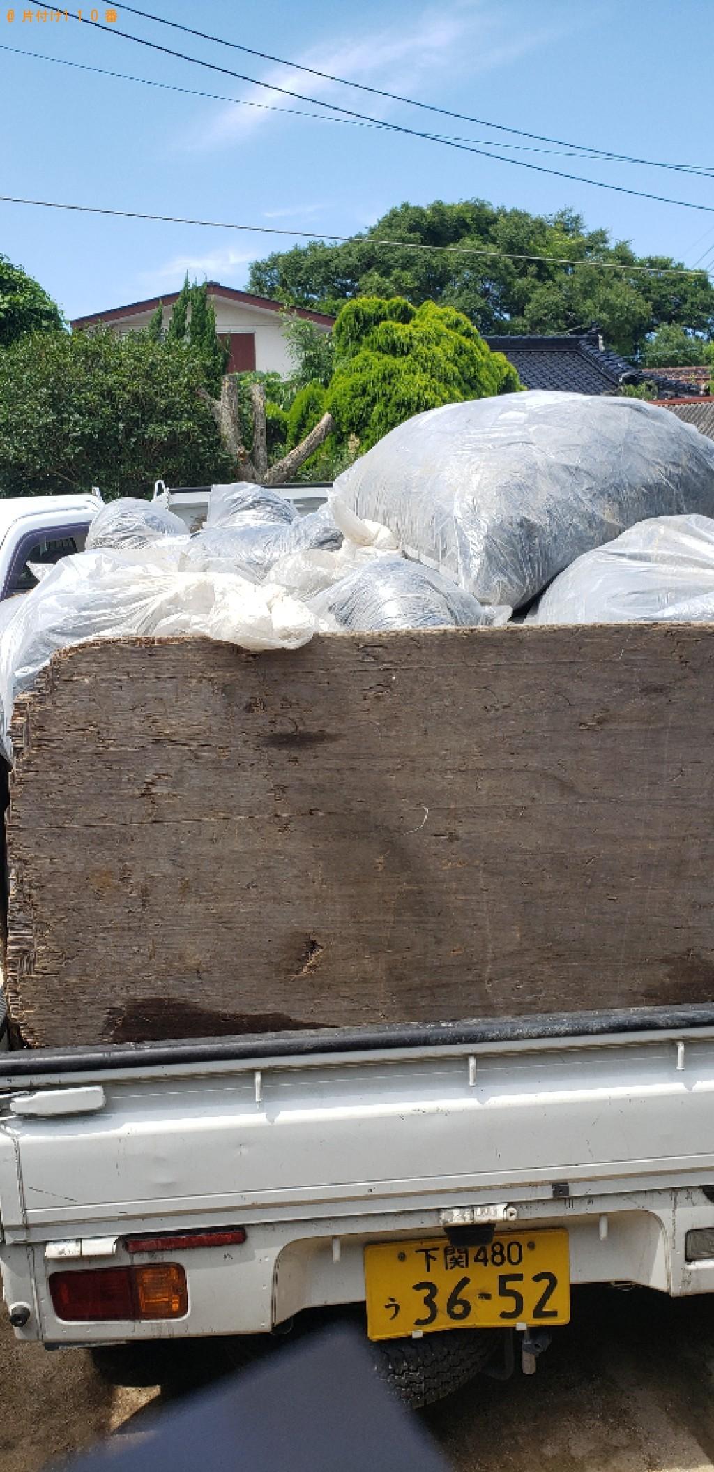 【下関市豊浦町】農業で使うビニールマルチ、塩化ビニールの袋の回収