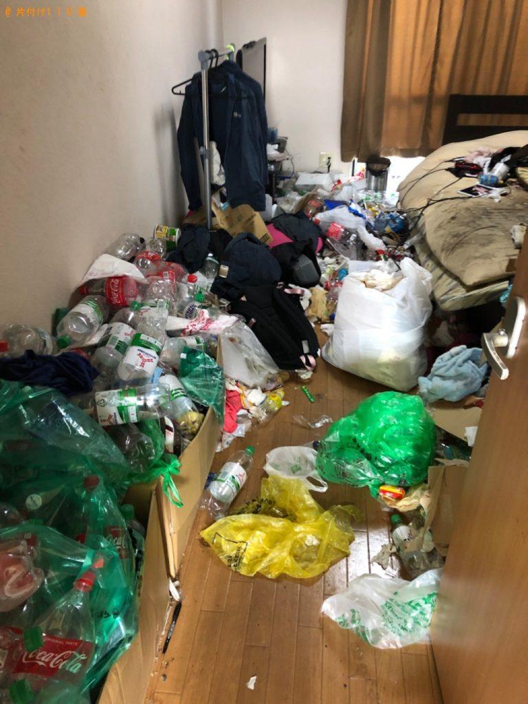 【目黒区】部屋の片付け手伝いと一般ごみの回収・処分ご依頼