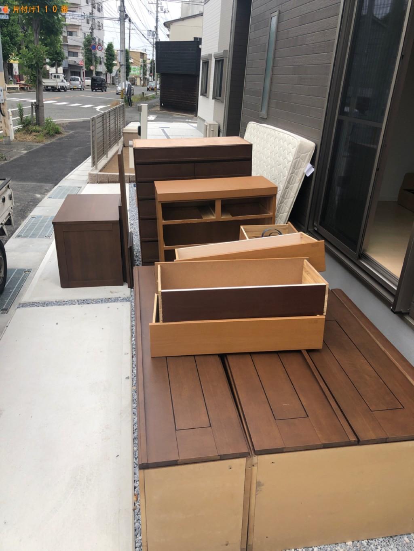 【下関市中央町】タンス、衣装ケースの回収・処分ご依頼 お客様の声