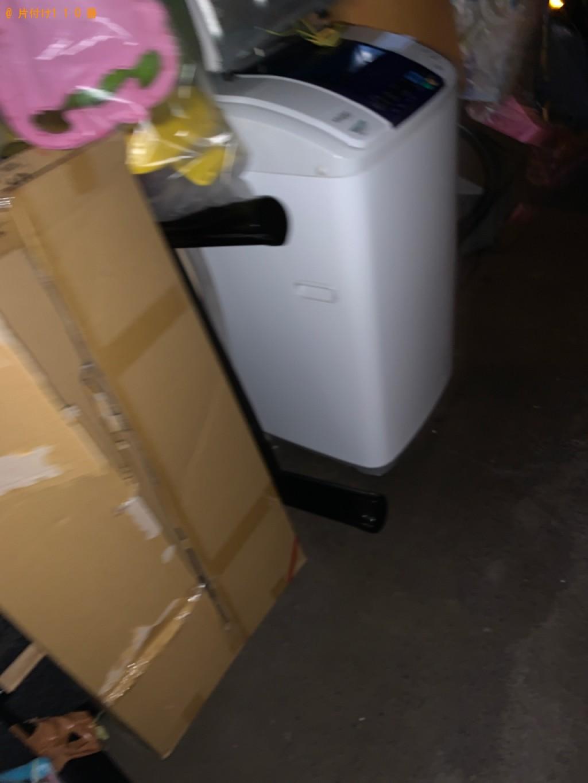 【下関市竹崎町】洗濯機、こたつ、混在ゴミの回収・処分ご依頼