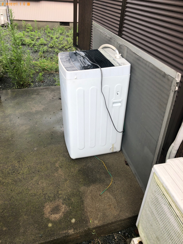 【防府市】洗濯機の回収・処分ご依頼 お客様の声