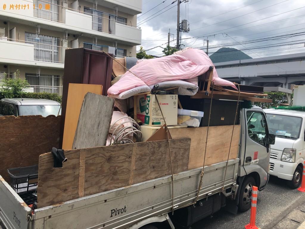 【阿武町】布団、家具、収納ケース等の回収・処分ご依頼 お客様の声
