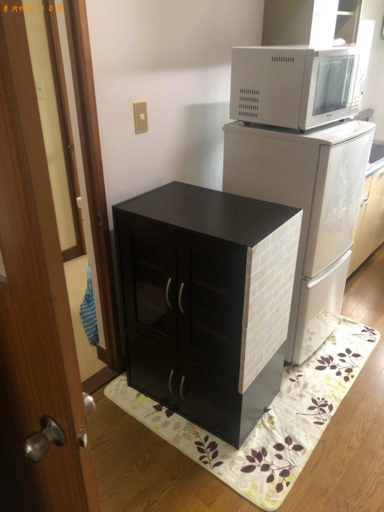 【日光市】遺品整理で冷蔵庫、エアコン、洗濯機、食器棚等の回収・処分ご依頼