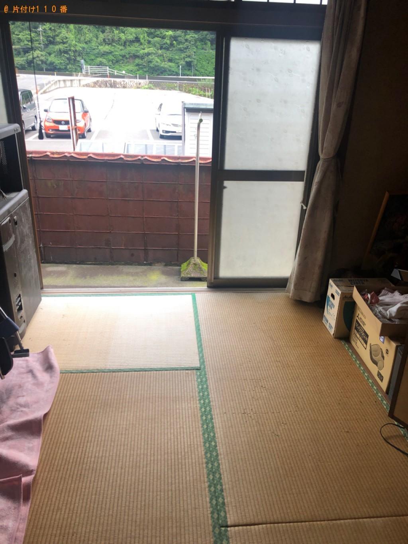 【岩国市】食器棚、カラーボックス、テレビ台の回収・処分ご依頼