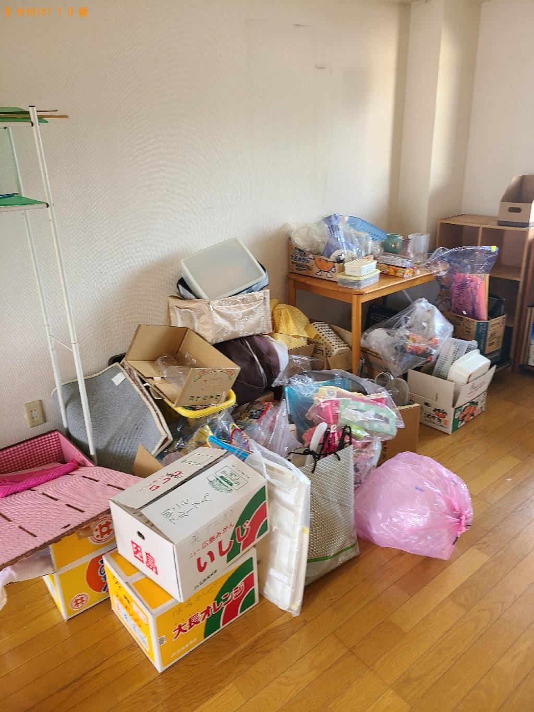 【下関市秋根本町】仏壇、カラーボックス、PCデスク、椅子等の回収