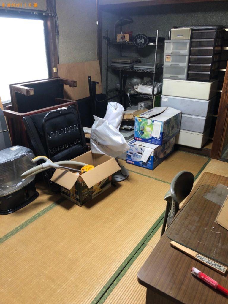 【下関市】食器棚、テーブル、椅子、ポット等の回収・処分ご依頼