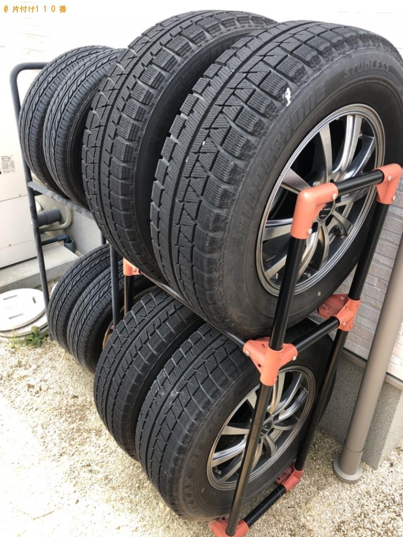 【岩国市】自動車タイヤの回収・処分ご依頼 お客様の声