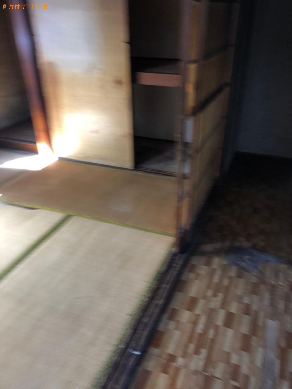 【柳井市】タンス、布団、冷蔵庫、食器類等の回収・処分ご依頼