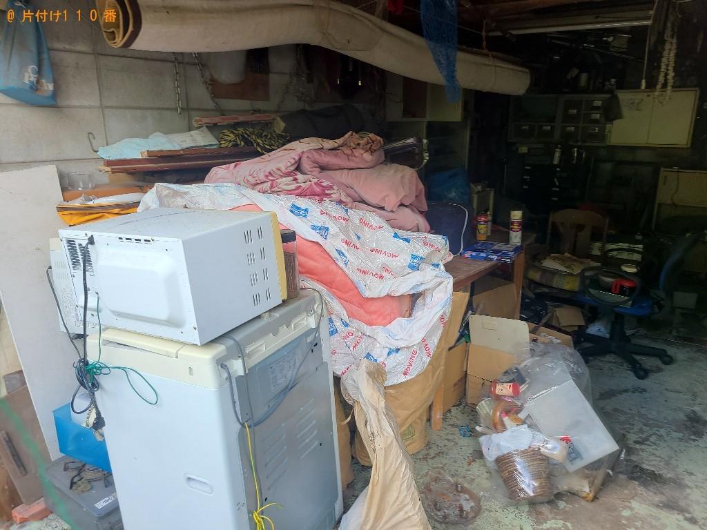 【光市】電子レンジ、洗濯機、布団、椅子等の回収・処分