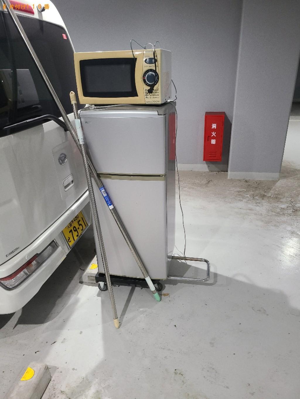 【下関市長府江下町】冷蔵庫、電子レンジ等の回収・処分ご依頼