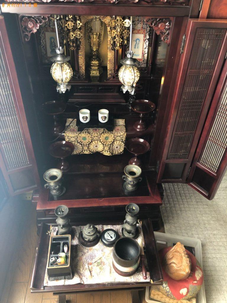 【萩市】遺品整理で仏壇の回収・処分ご依頼 お客様の声