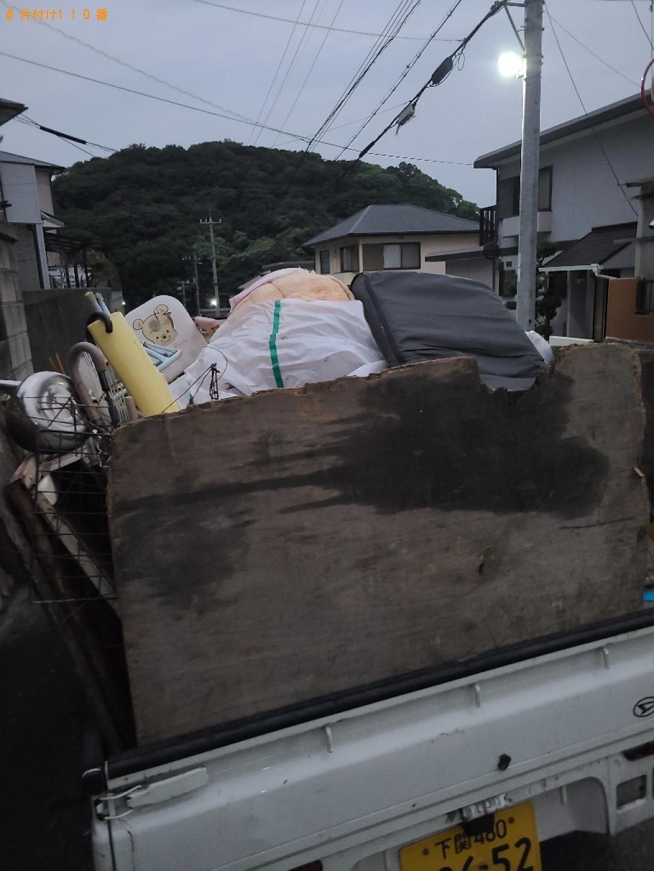 【下関市彦島塩浜町】軽トラック1台程度の出張不用品回収・処分