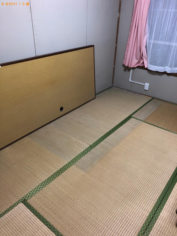 【宇部市】シングルベッド(マットレス付)の回収・処分ご依頼