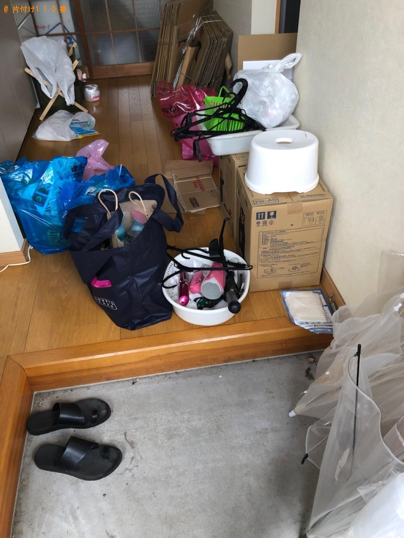 【和木町】洗面器、ハンガー、お風呂の椅子、一般ごみ等の回収