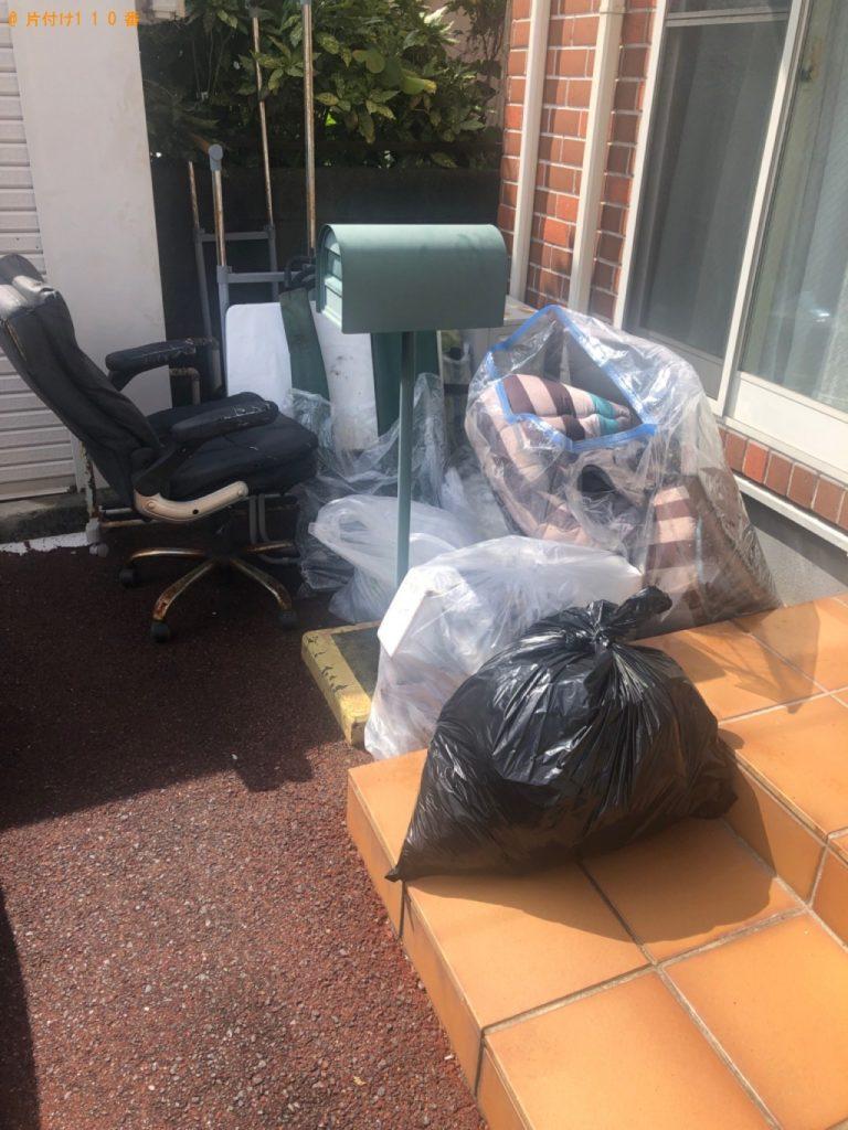 【町田市】扇風機、椅子、一般ごみ等の回収・処分ご依頼 お客様の声