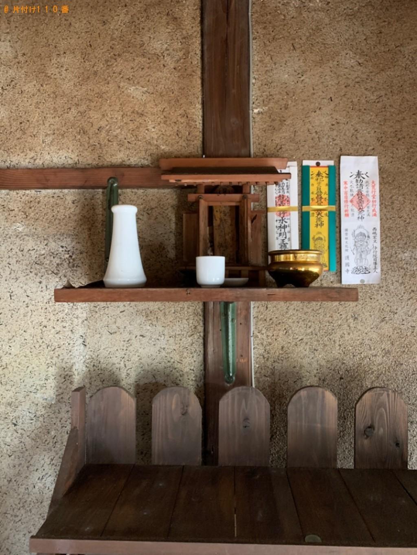 【宇部市】仏壇、神棚の回収・処分ご依頼 お客様の声