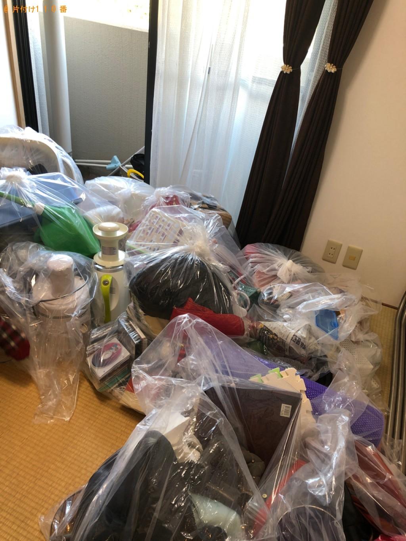 【阿武町】本棚、一般ごみの回収・処分ご依頼 お客様の声