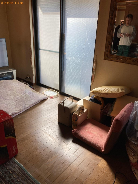 【宇部市東新川町】タンス、クローゼット、食器棚、ソファー等の回収