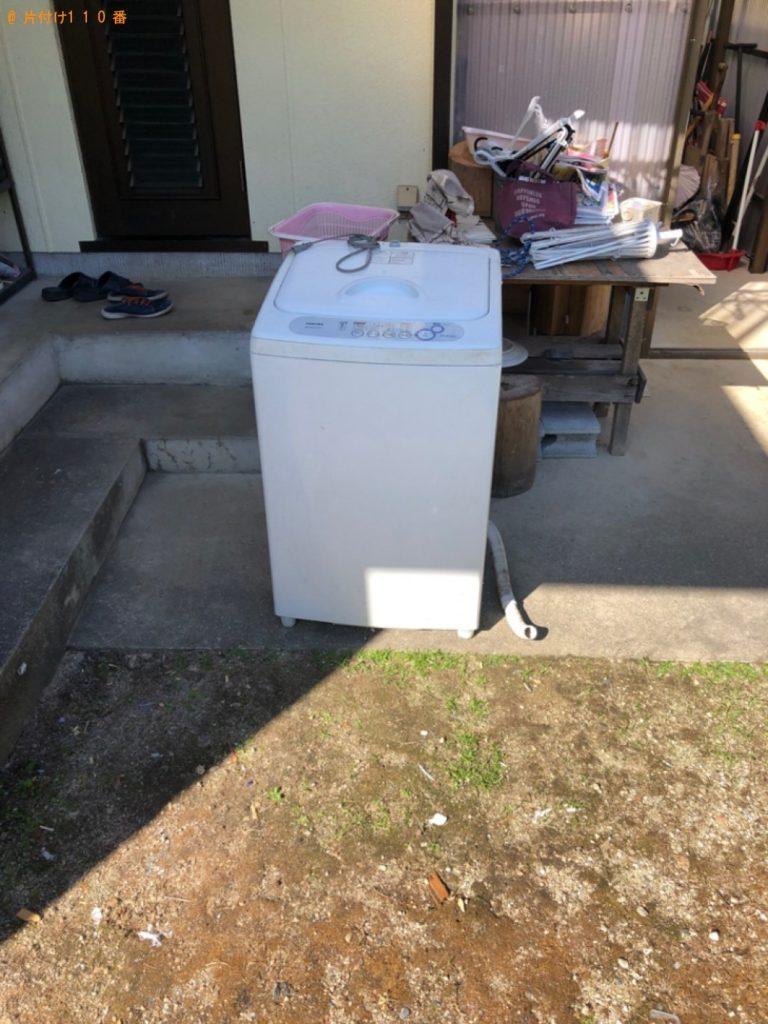 【岡谷市】洗濯機、マッサージチェア、ラックの回収・処分ご依頼