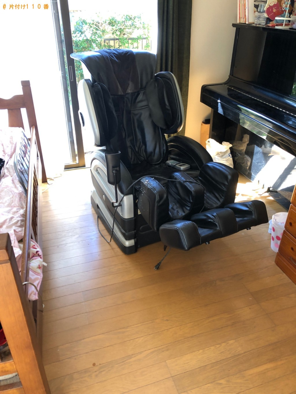 【山口市】洗濯機、マッサージチェア、ラックの回収・処分ご依頼