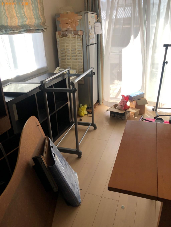 【下関市綾羅木本町】冷蔵庫、本棚、テレビ台等の回収・処分ご依頼