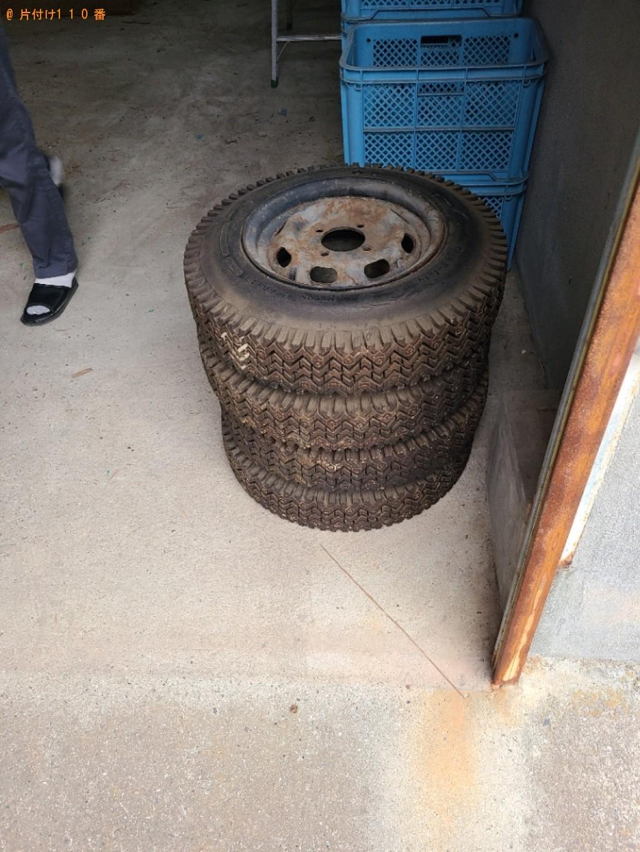 【防府市】自動車タイヤの回収・処分ご依頼 お客様の声