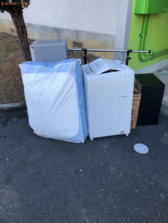 【熊毛郡田布施町】冷蔵庫、洗濯機、布団等の回収・処分ご依頼