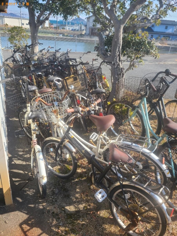 【防府市】自転車の回収・処分ご依頼 お客様の声