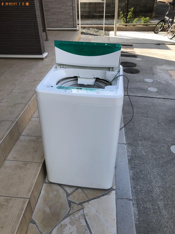 【下関市安岡本町】洗濯機、混在ゴミの回収・処分ご依頼 お客様の声