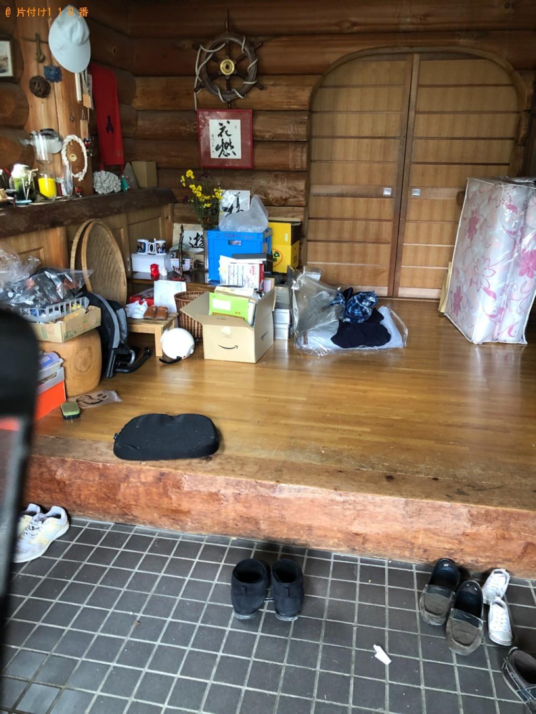 【下関市田中町】マッサージチェア、ラック等の回収・処分ご依頼