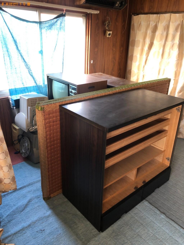 【下松市】テレビ、エアコン、洗濯機、タンス、下駄箱等の回収・処分