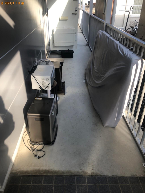 【岩国市川下町】シングルベッドマットレス、椅子等の回収・処分