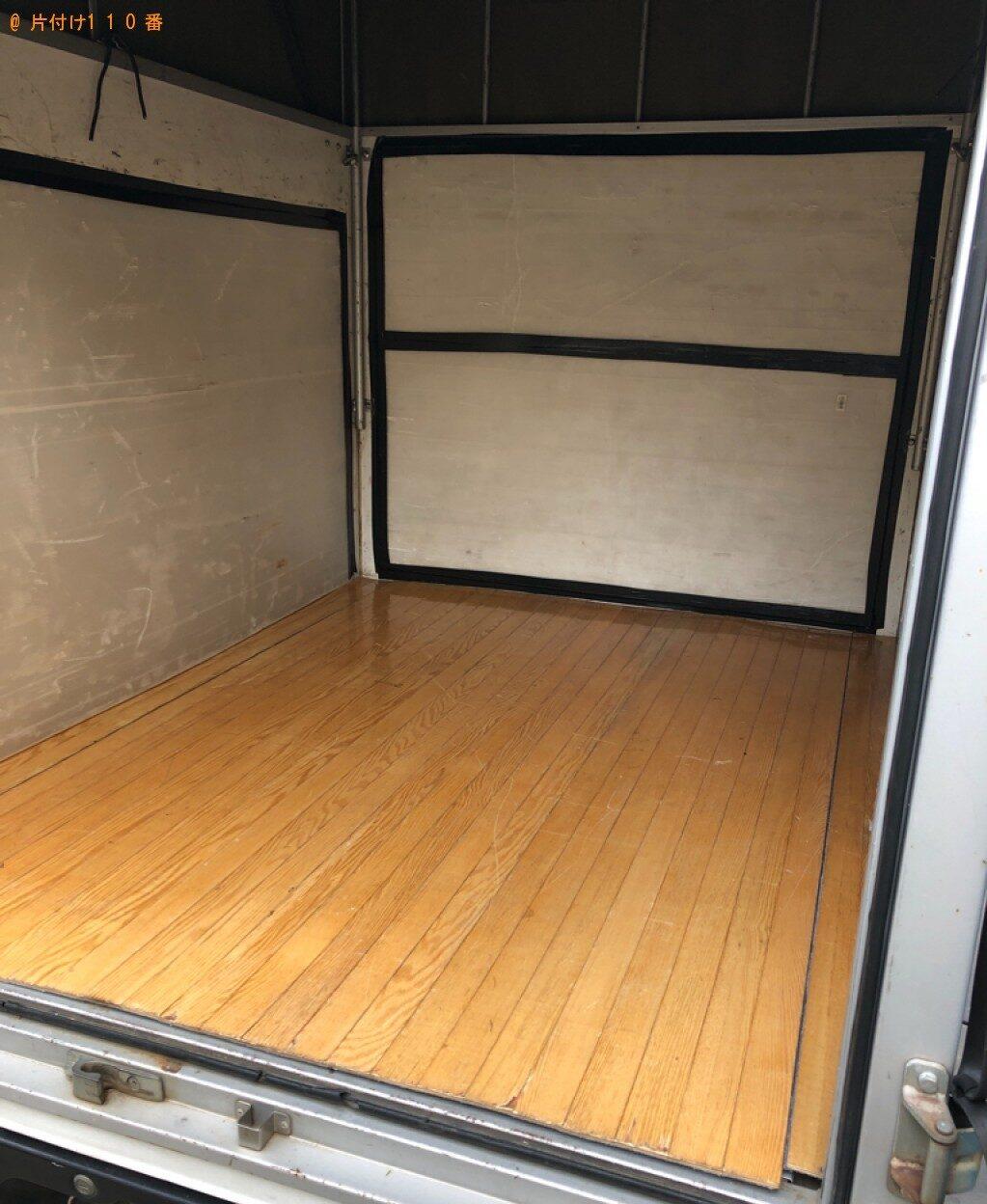 【下松市中央町】折り畳みシングルベッド等の回収と荷物の移動ご依頼