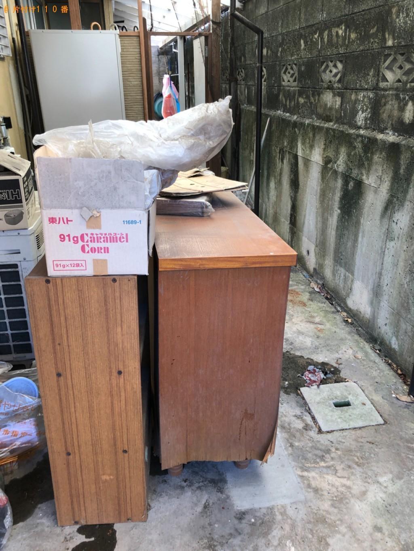 【下関市一の宮町】布団、衣類、椅子、ダンボール、家具等の回収