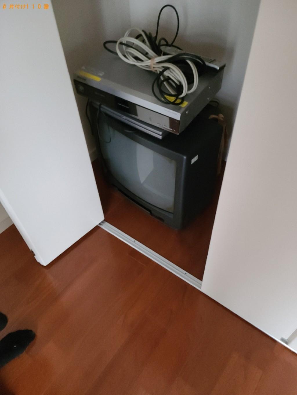 【下関市長府八幡町】テレビ、レコーダーの回収・処分ご依頼
