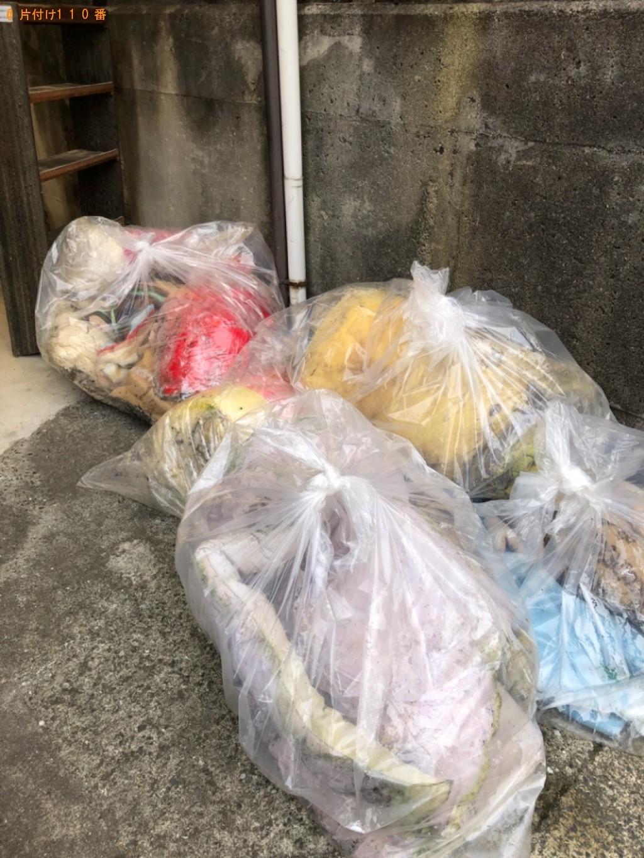 【下関市】家具、布団、一般ごみ、枝、ダンボール等の回収・処分