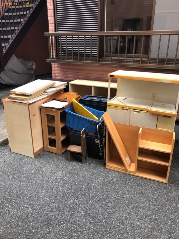 【周南市】タンス、カラーボックス、衣装ケース等の回収・処分ご依頼
