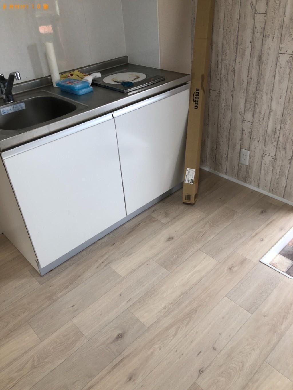 【関市稗田西町】冷蔵庫、テレビ、洗濯機、こたつ、椅子等の回収