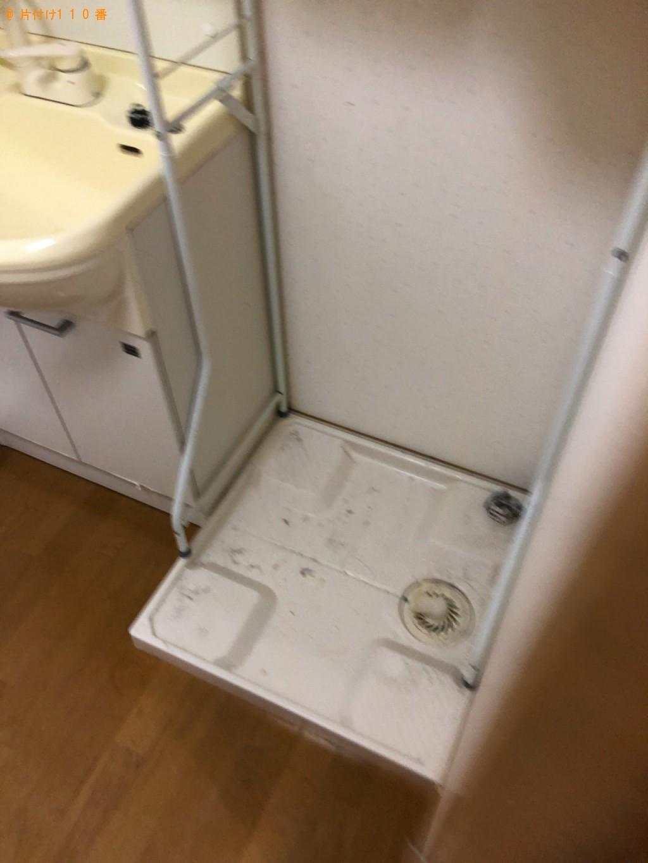 【宇部市】冷蔵庫、洗濯機、マットレス付きシングルベッド等の回収